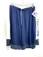 Majestic Detroit Tigers Mens Navy Blue Shorts Sz XXL NWT RG100153