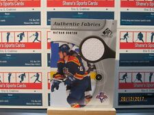 2005-06 SP Game Used Authentic Fabrics #AFNH Nathan Horton