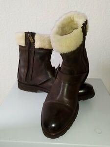 Baldinini Herren Stiefel Boots Lammfell Gr.43 neuwertig!