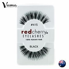 RED CHERRY Lashes #415 BRAND NEW 100% Human Hair AUS Seller