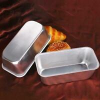 DIY Aluminium Kuchenform Brot Toast Groß Laib Pfanne Blenden Antihaft Y3Q4