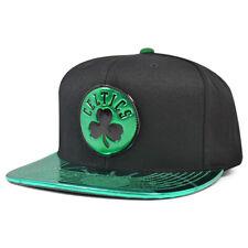 Boston Celtics TEAM STANDARD RADIATION Snapback Mitchell & Ness NBA Hat - Black