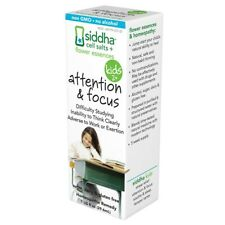 SIDDHA - Attention and Focus Supplement for Kids - 1 fl. oz. (29.6 ml)