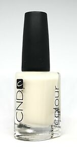 CND Creative Nail Polish Washed Down White #500 Sheer White French Manicure