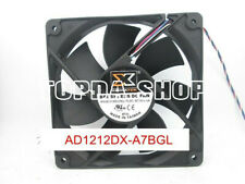 1pcXIGMATEK AD1212DX-A7BGLPWM coolingfan 4pin12V 0.13A 12CM #XX