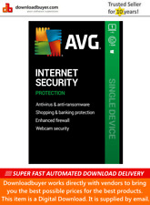 AVG Internet Security 2020 - 1 PC - 1 Year [Download]