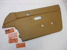93 MIATA MX-5 RIGHT DOOR PANEL  90 91 92 94 95 96 97 PASSENGER R RH RF CAR TAN