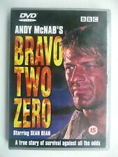 Bravo Two Zero (DVD, 2000) BBC Drama, Tom Clegg, Sean Bean, with booklet