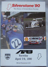 1990 ARB raceday Silverstone Official Programme