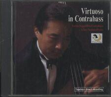 "Nagashima ""Virtuoso in contrabass"" D2D AUDIOPHILE GOLD CD 1996 Japan"