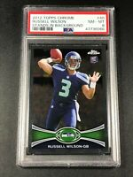RUSSEL WILSON 2012 TOPPS CHROME #40 ROOKIE RC NM-MINT PSA 8 SEAHAWKS NFL (A)