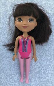 Dora the Explorer Ballerina Doll 8 in Mattel 2015 Viacom flaws
