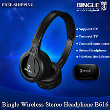 Bingle B616 Wireless Headphone Ergonomic Headset With FM for PC/TV/Cellphone