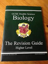 CGP GCSE DOUBLE SCIENCE BIOLOGY HIGHER LEVEL THE REVISION GUIDE