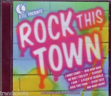 Rock This Town K-TEL CD Classic 80s STRAY CATS STARSHIP CINDERELLA BERLIN Rare