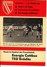 DDR-Liga 80/81 BSG energía cottbus-TSG gröditz 07.09.1980