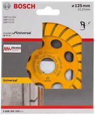Bosch Diamant Schleiftopf Schleifteller 125 mm für Winkelschleifer 2608201235