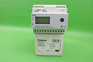 Crabtree 3 Phase Energy Meter with LAN Connection 2 Tariff PM3/LAN (G216)