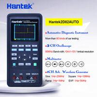 Hantek 2D82AUTO Oscilloscope Tester Automotive Multimeter Waveform Generator FY