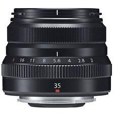 BRAND NEW SEALD Fuji XF 35mm f/2 R WR Lens (Black) W/ Warranty, BLACK