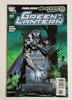 Green Latern #43 Prologue to Blackest Night Story Arc DC Comics 2009