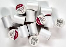 14 Spools Sewing Thread Polyester WHITE 200 yards each Spool - NEW