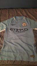 Nike Manchester City Soccer Jersey Shirt 2017/18 Size S