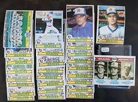1979 Topps Baseball Atlanta Braves Complete 27 Card Team Set Murphy Niekro NR/MT