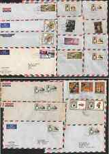 Fujiera 1966-71 covers (x18) used by Post office to send new issue notices