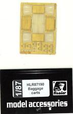 Hauler Models 1/87 AIRPORT BAGGAGE CARTS Photo Etch Set