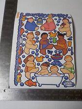 STICKOPOTAMUS BATH TIME BUBLES BINDER LARGE SHEET STICKERS SCRAPBOOKING A3622