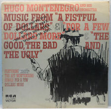 Hugo Montenegro - A Fistfull Of Dollars / For A Few Dollars More Western Ost Lp