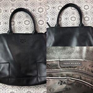 Tory Burch Tote Handbag Black Inv#W1574