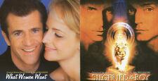 """Alan Silvestri:  """"Siegfried & Roy + What Woman Want""""  (Soundtrack Score CD)"""