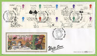 G.B. 1996 Greetings set on Benham First Day Cover, Kyle Ross-Shire