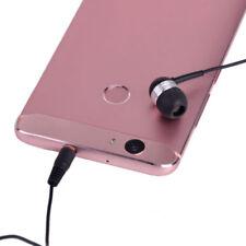 3.5mm Single Side Mono Wire In Ear Headphone Earbud Universal Earphone