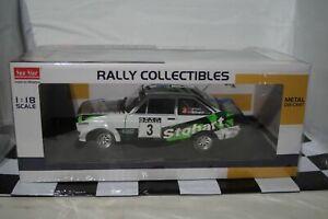 SunStar Ford Escort MK2 RS1800 Roger.Albert.Clark Rally 2008 4852 1:18 Scale