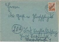 Germany 1949 Berlin Overprint Berlin NW Cancel Stamps Cover Ref 24073