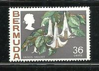 Album Treasures Bermuda Scott # 268  36c Flower Angel's Trumpet Mint NH