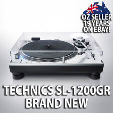NEW TECHNICS SL-1200GR AUDIOPHILE DIRECT DRIVE TURNTABLE RECORD PLAYER SL-1200