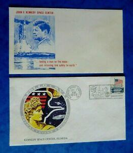 1972 Kennedy Space Centre / Apollo XVII Covers x 2