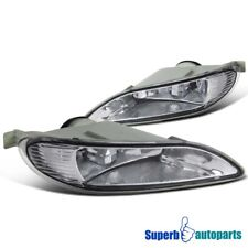 2005-2008 Toyota Corolla Bumper Lamps Fog Lights Kit+Switch Clear