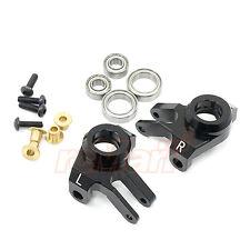 Xtra Speed Aluminum 6061 T6 Front Knuckle Arm Axial SCX10 II BK #XS-SCX230041BK