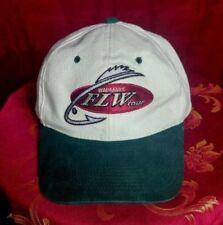 Men's Walmart FLW Bass tour Signature Beige Cotton Strap Back Adjustable Hat