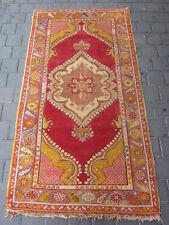 Antique Turkish Rug Carpet Hand Woven 190x100-cm / 74.8x39.3-inches