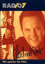Radio 7 AUTOGRAFO Biglietto Autografo mano firmato Michael ROSSO Autograph RADIO TV