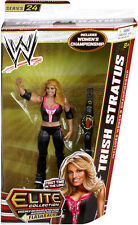 WWE TRISH STRATUS ELITE 24 WRESTLING FIGURE FLASHBACK FIRST IN LINE WOMANS TITLE