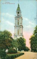 Ansichtskarte Potsdam Kgl. Hof- und Garnisonkirche 1915  (Nr.9068) farbig