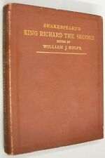 1888 King Richard the Second WILLIAM SHAKESPEARE Rolfe