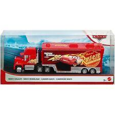 INSTOCK Disney Pixar Cars Mack Hauler Lightning Mcqueen Truck and Trailer